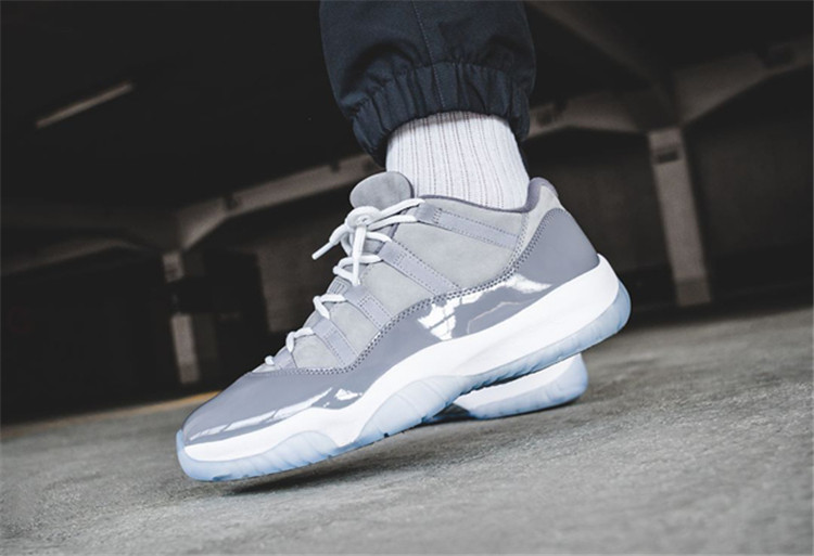 Air Jordan 11 Low Cool Grey AJ11低帮酷灰528895-003