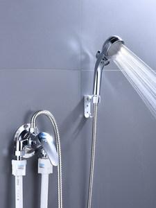 全铜明装淋浴冷热水龙头花洒套装 太阳能电热水器配件混水阀开关