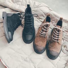 冬季复古马丁靴加绒521-120 货稳定