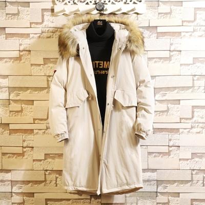 主推 日系风1冬季宽松大码大毛领长款棉衣外套 YC19 P155