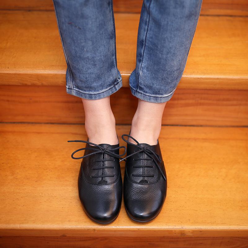 赤脚鞋般舒适!Chao软皮厚软底德国/顾芳博歌KUFENBERG 5612单鞋