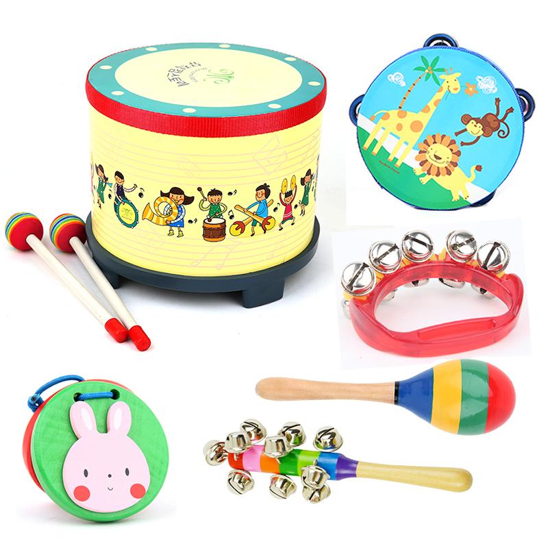 Бесплатная доставка заумный твой муж музыкальные инструменты обучения в раннем возрасте милый ребенок стучать барабан музыка игрушка ребенок подарок