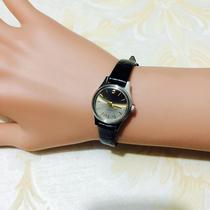 国产腕表经典彩盘刻度手动机械女表真皮手表宝石花库存正品女款