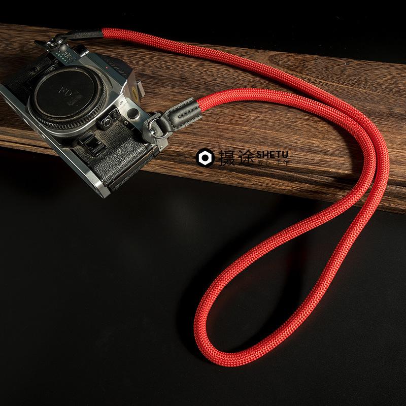 热销1件有赠品摄途登山绳微单拍立得复古相机带