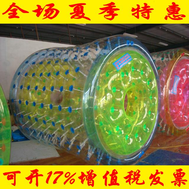 Водный ролик мяч все импорт T кожзаменитель водный гулять мяч толстые модель ребенок водный рай оборудование 2.4 метр 2.6