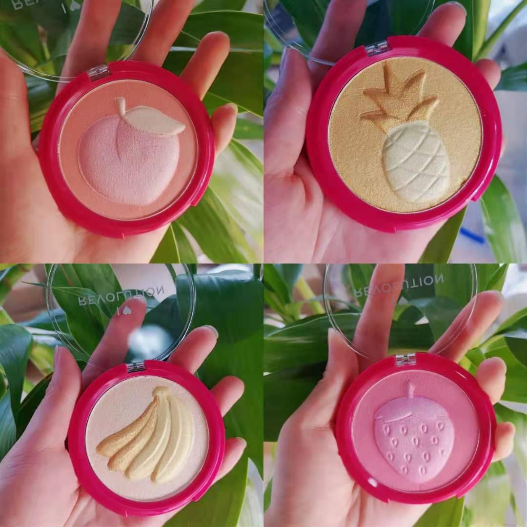 (用1元券)makeup revolution少女玫瑰双色盘