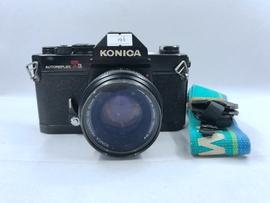 90新二手KONICA柯尼卡AUTOREFLEX T3胶片机收藏古董老式传统相机图片