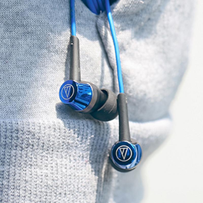 【官方专卖】Audio Technica/铁三角ATH-CKR50is耳机入耳式女毒人声魔音asmr有线控bo带麦k歌beast耳塞best