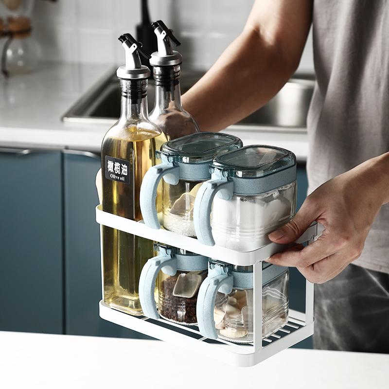 10月16日最新优惠立式组合套装北欧佐料盒厨房调料盒