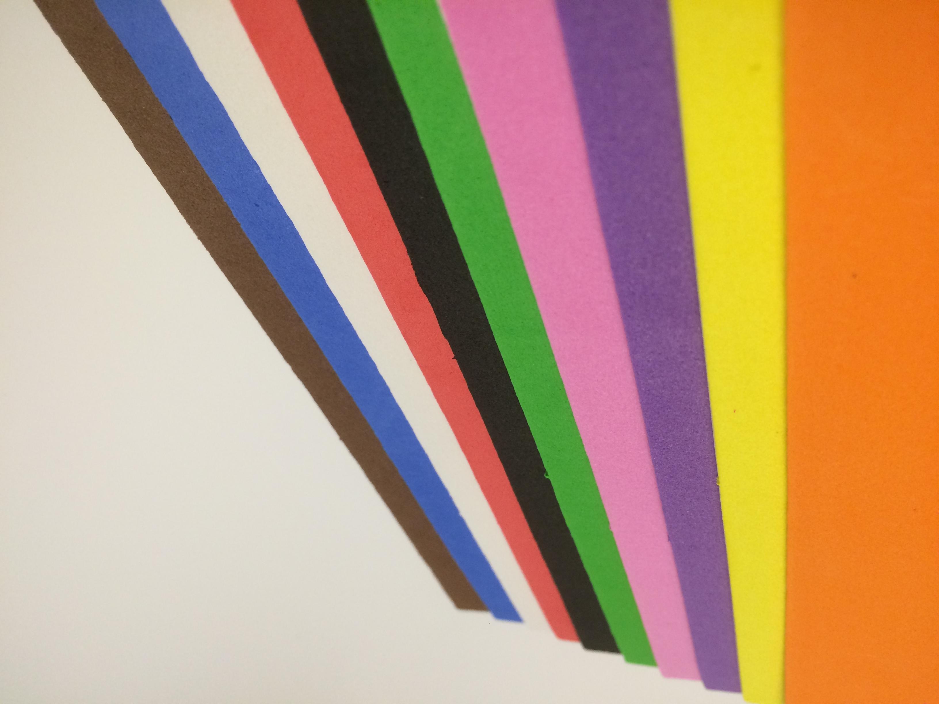 儿童手工创意粘贴类剪裁eva环保材料彩色泡沫贴纸压花20张包邮中