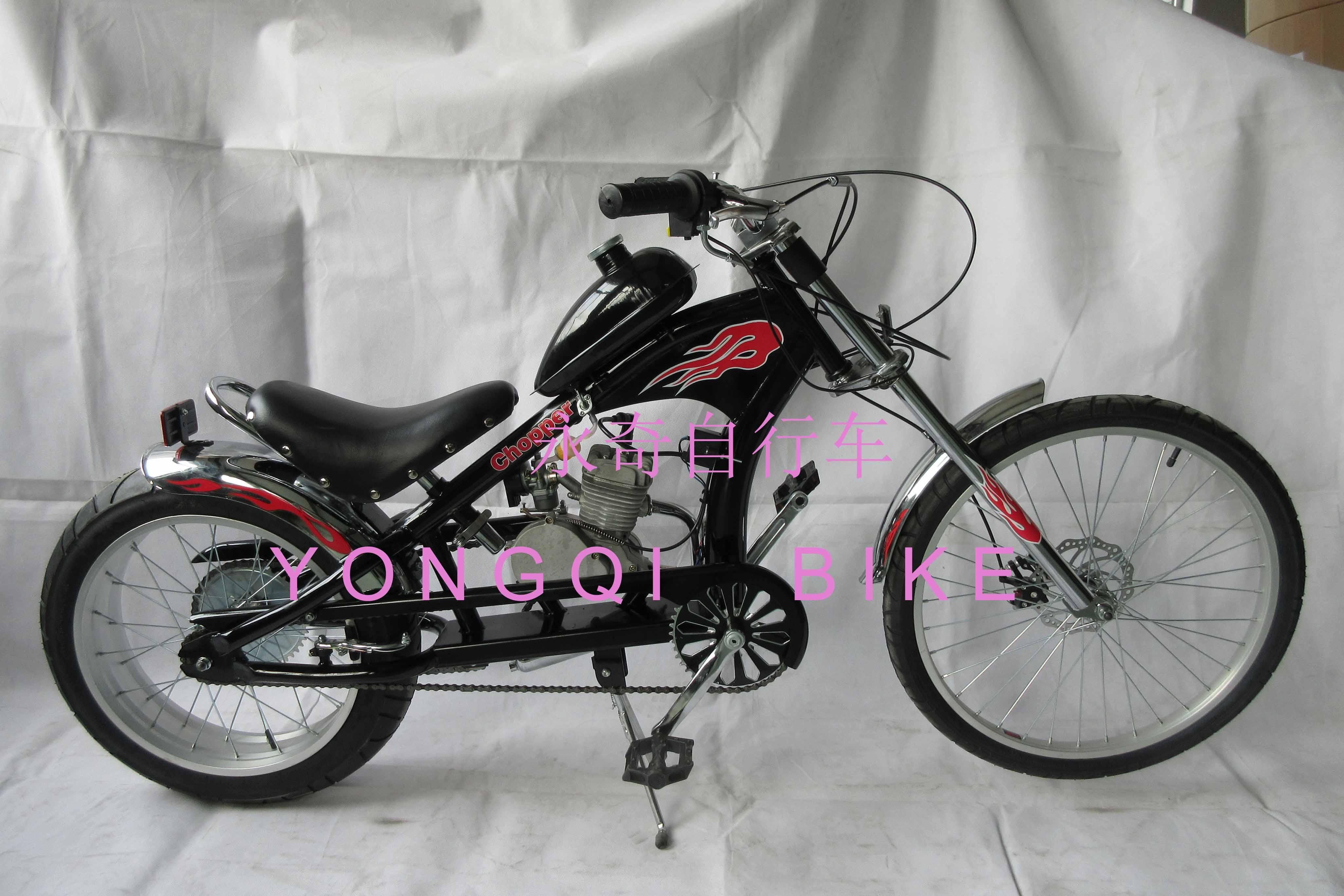Индивидуальный мотоцикл Harley 48cc / 60cc / 80CC с двухтактным двигателем