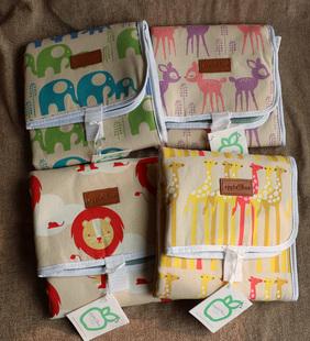 环保有机棉母婴外出防水坐垫卡通厚实防水屁垫隔尿垫