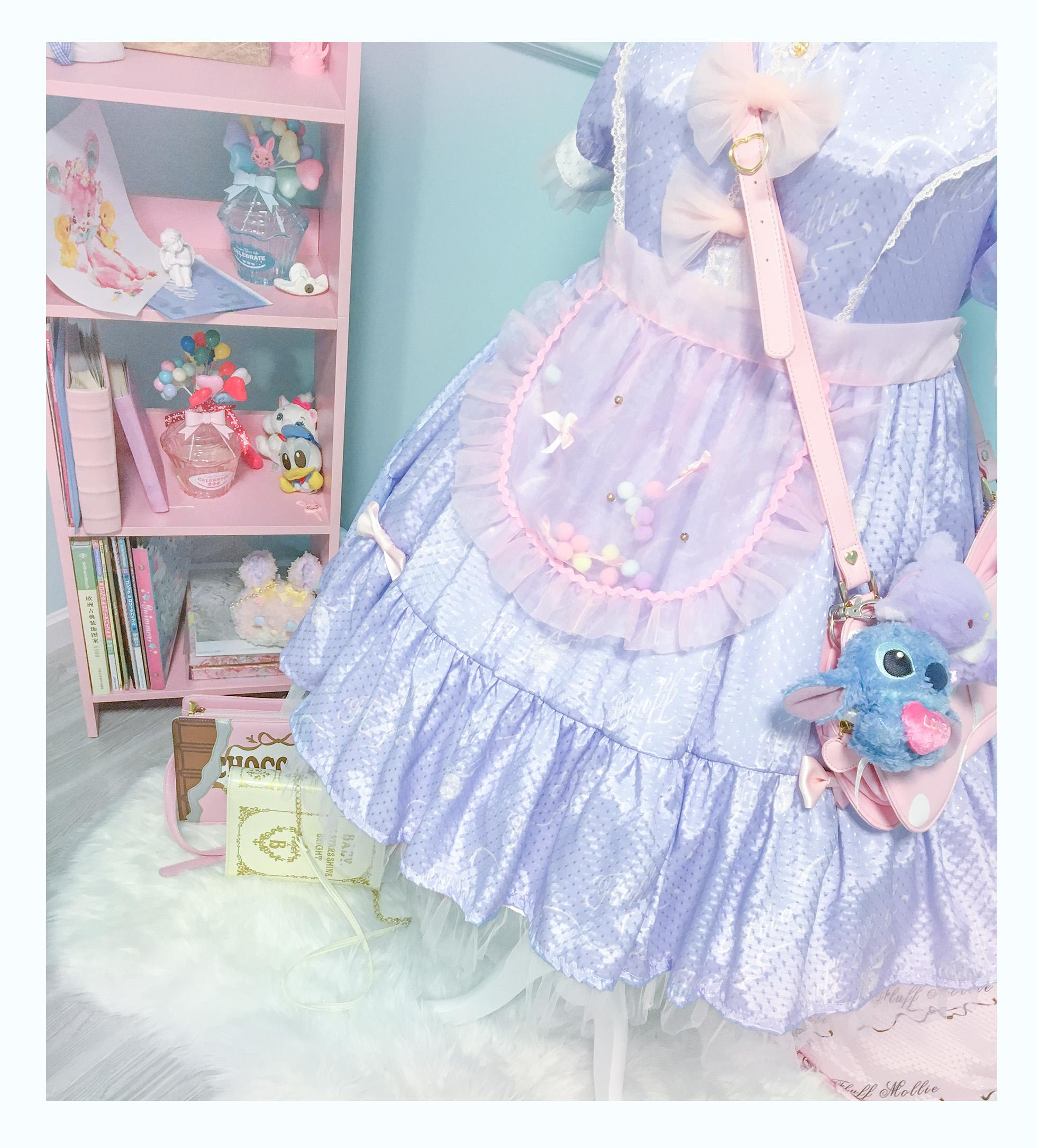 *Three pack * fluff Mollie girls Organza ball skirt / skirt skirt Lolita