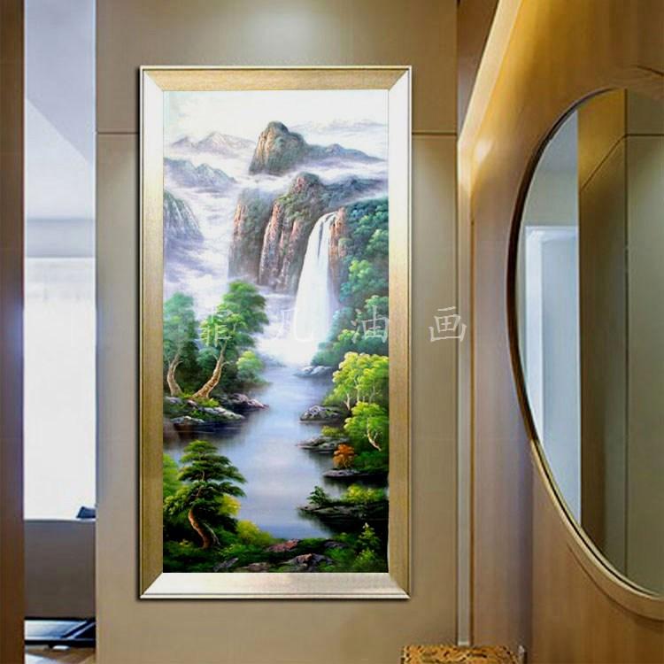 『霏凡油画』画家直销纯手工绘制山水风景画作 FF-SSS