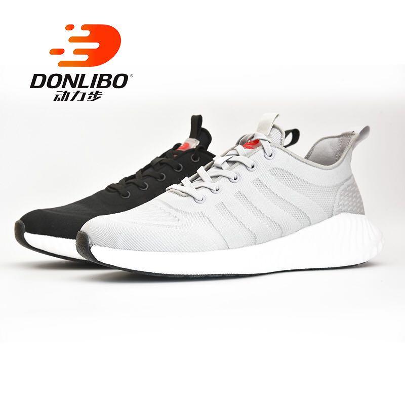 动力步新品中老年健步运动休闲防滑夏季女士网面鞋