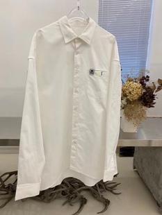 韓國超火爆小眾設計師品牌 ADE*20SS春夏新款 病毒系列廓型襯衫