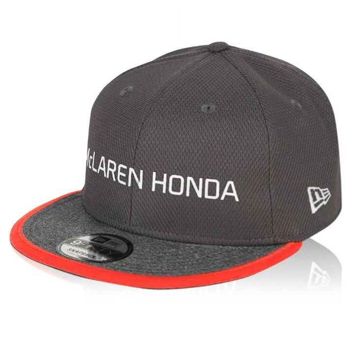 F1 шаг торжествующий отношения автоколонна McLaren honda Honda автоколонна крышка Team Cap темно-серый