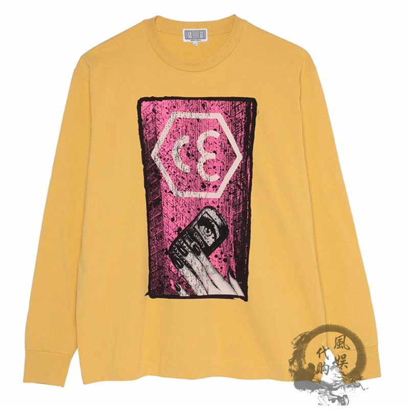 CAVEMPT C.E HEX LONG SLEEVE CAV EMPT手機印花衛衣男秋冬長袖女