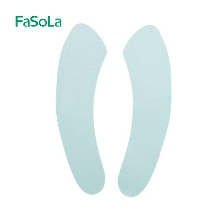 fasola粘贴式加厚防水水晶绒马桶贴