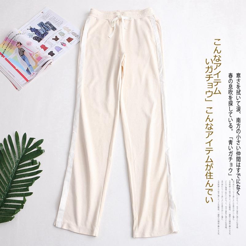 d79女士外贸新款春季女装运动裤