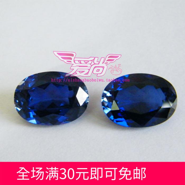 AAA оценка драгоценный камень синий корунд яйце-образный овальный голый камень 3*4mm--- 18*25mm больше размер выбранный
