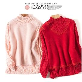 直播福利~女神的新衣~短款 仿水貂 针织衫  8羊毛图片