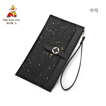 Scarecrow Teen Mobile Phone 0 Wallet 2018 New hand bag small key hand grab coin bag multifunctional thin