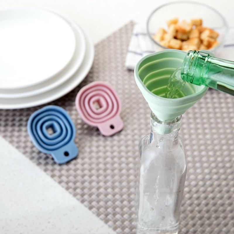 Домой домой небольшой площади количество протяжение конус воронка кухня жидкость упаковка устройство домой пищевого выпекать выпекать инструмент