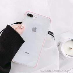 简约透明苹果11Pro/Max/X/XS/XR手机壳iphone12/7/SE/8plus/6女款