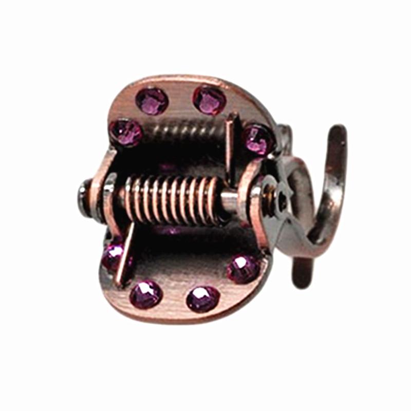 South Korea Christ hairpin metal small hair grip bangs clip water drill grip hairpin plate hair
