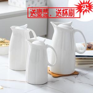 超大容量家用耐热水壶  陶瓷杯具水杯 简约冷水壶凉水壶茶具水具