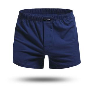 3條裝棉寬松男士平角褲舒適頭短褲