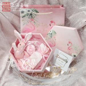 三八妇女节ins风礼品盒子包装礼物盒空网红大号口红生日高档精致