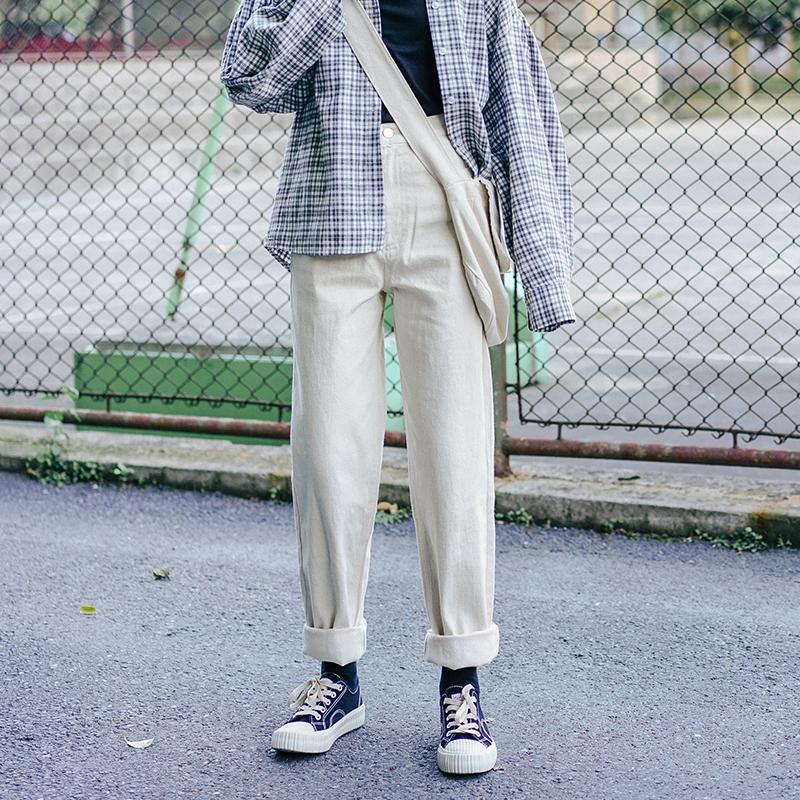 臀部宽穿什么休闲裤:梨形身材穿衣搭配
