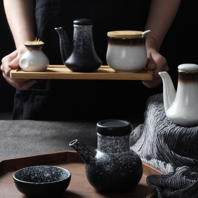 创意酱油醋日式陶瓷餐厅商用家用壶12月07日最新优惠