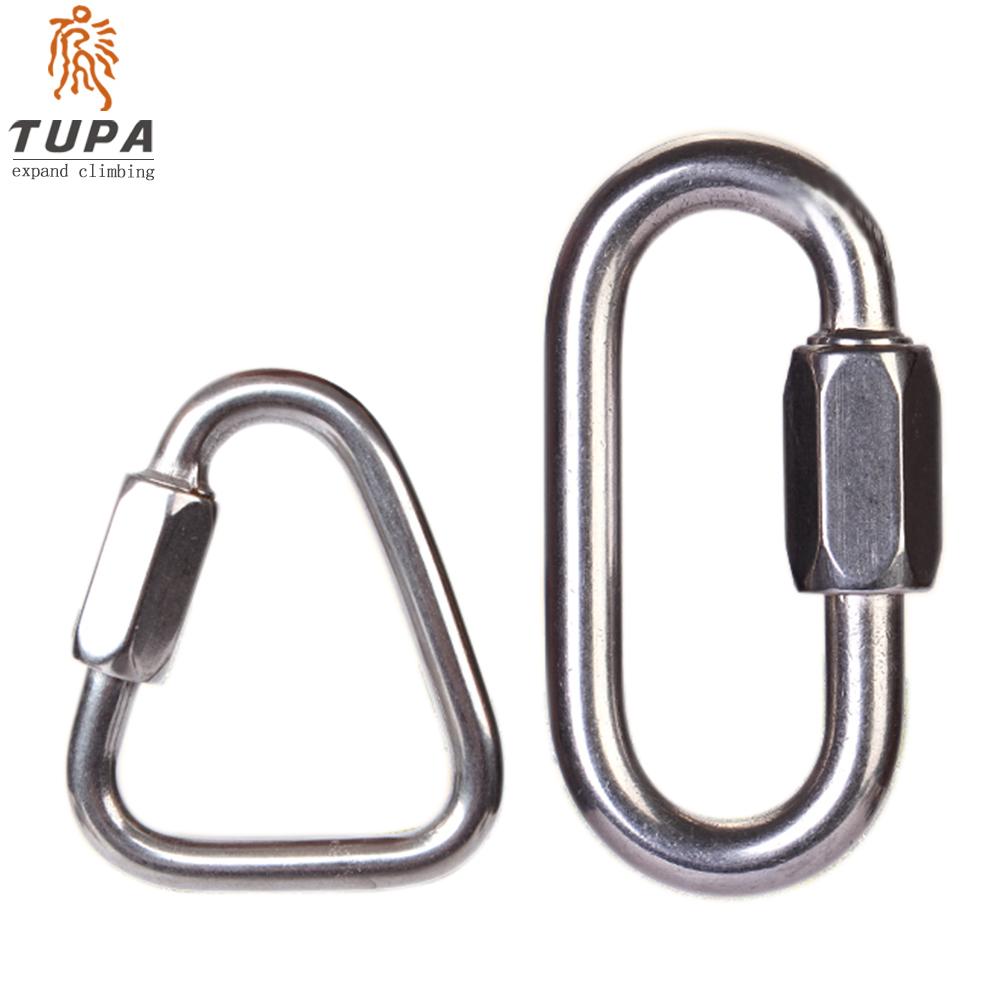 Развивать подъем /TUPA слива большой запереть слива длинный запереть специальность карабин подшипник безопасность крюк нержавеющей стали запереть гамак специальный