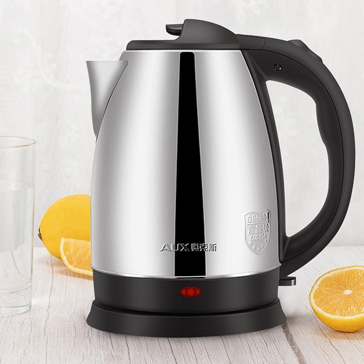 奥克斯电热水壶烧水壶家用全自动断电不锈钢煲煮水器2L大容量电壶