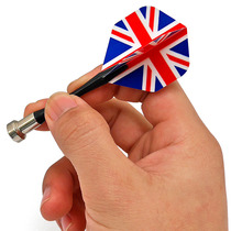 Magnetic Darts Needle Professional dart needle American British Flag Dart Wing 3 pack 304