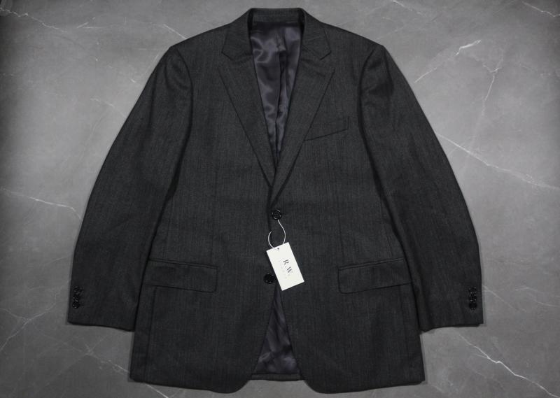 Self owned brand Italian import Merino wool striped flannel casual business suit coat