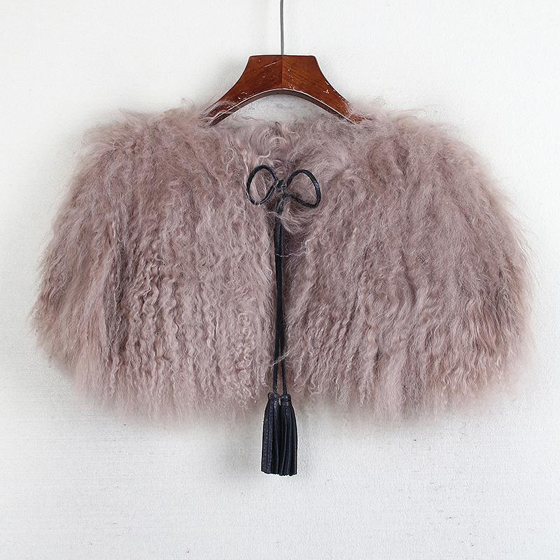 Земля серия марка скидка сокращение стандартов весна новые товары женщины дамы темперамент шуба шаль пальто волна Y20347