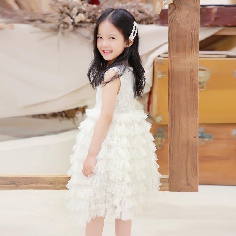 儿童装女童蛋糕连衣裙2020新款夏装仙女洋气女孩蓬蓬纱裙公主裙子