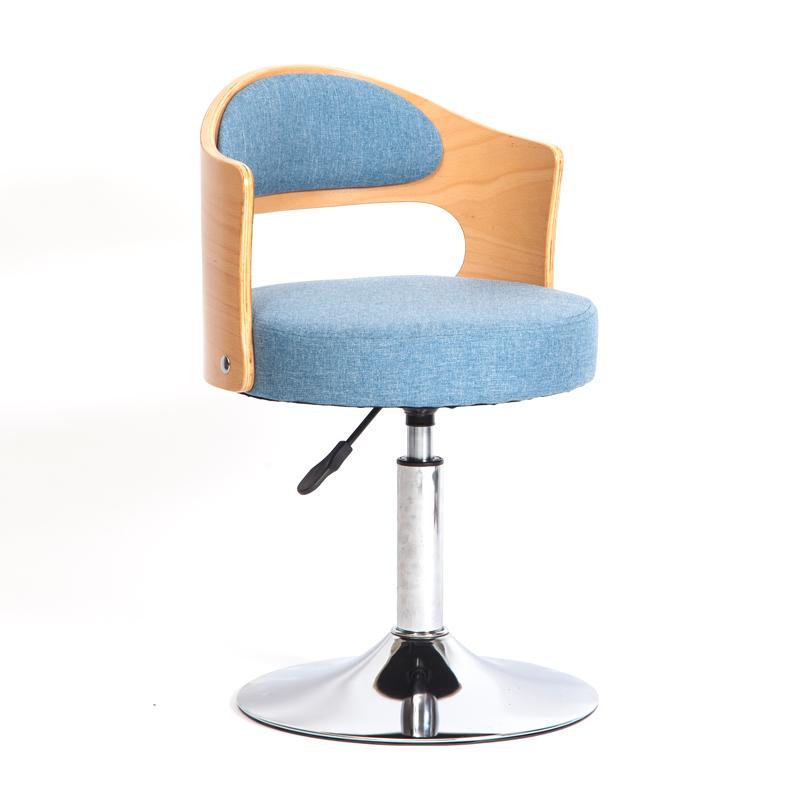 特价实木靠背现代简约家用电脑椅小巧书桌椅升降旋转学生学习转椅
