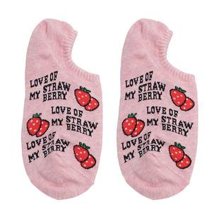 韓國襪子女代購東大門卡通水果淺口隱形船襪硅膠防滑短襪夏季薄款