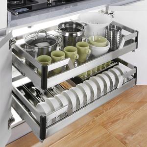 领5元券购买不锈钢厨房家装主材橱柜阻尼轨道