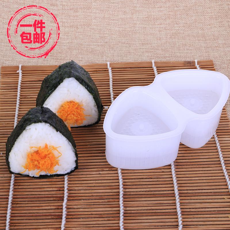Иморт из японии треугольник рис группа суши DIY плесень плесень коробка суши модель суши устройство материал причина инструмент