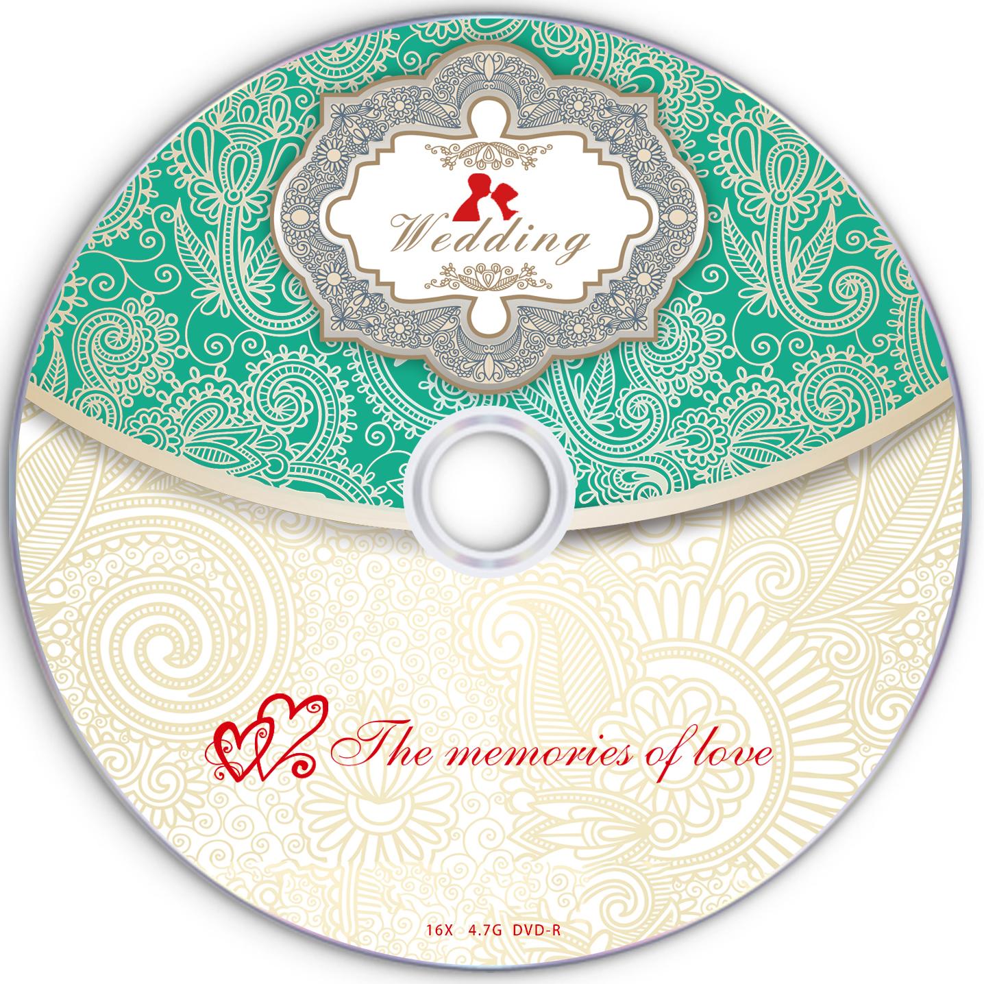 婚庆刻录盘 婚礼空白光盘 DVD 4.7G 8.5G婚庆光盘 婚纱影楼刻录盘