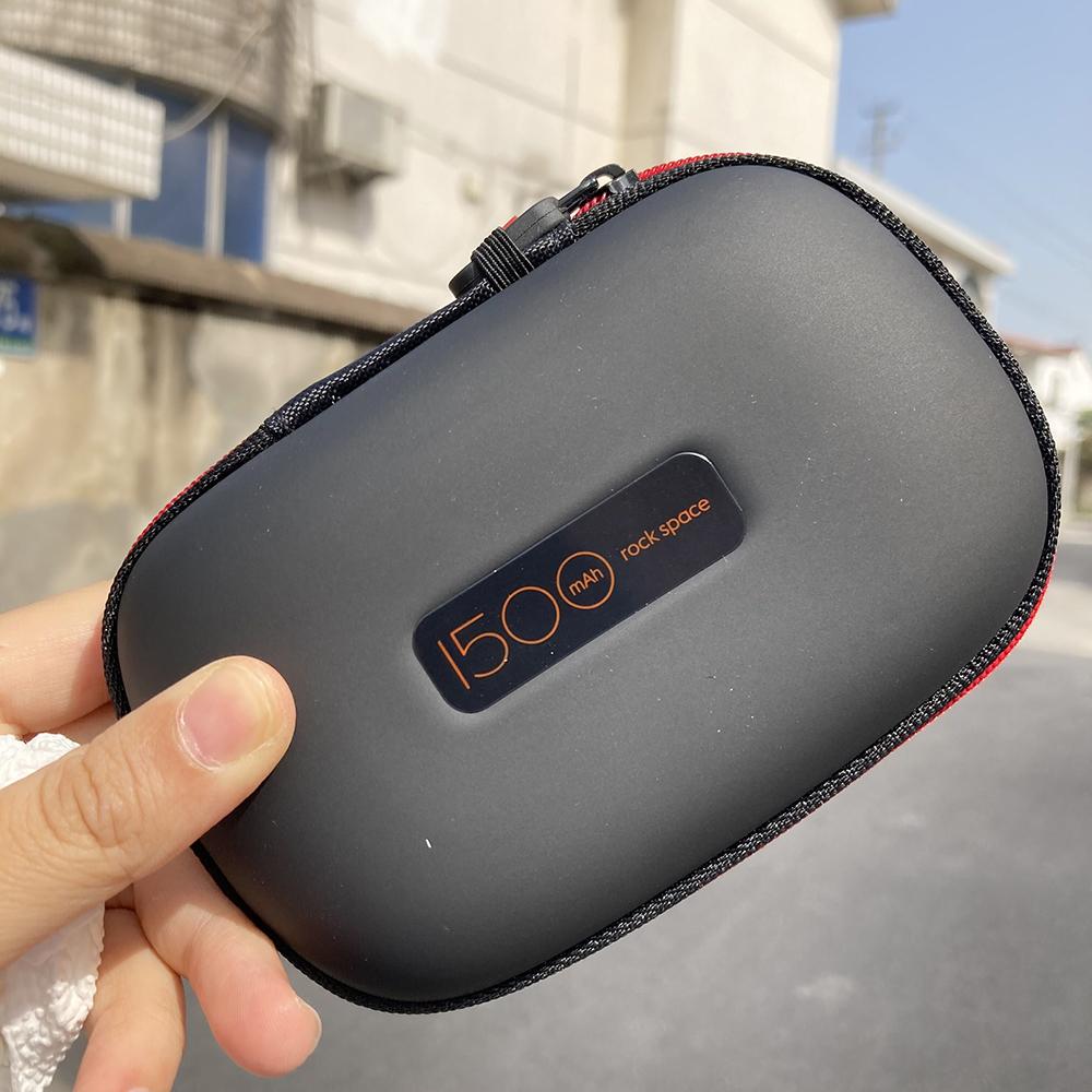 无线蓝牙耳机保护套充电宝运动手环数码产品超薄小巧便携式收纳盒