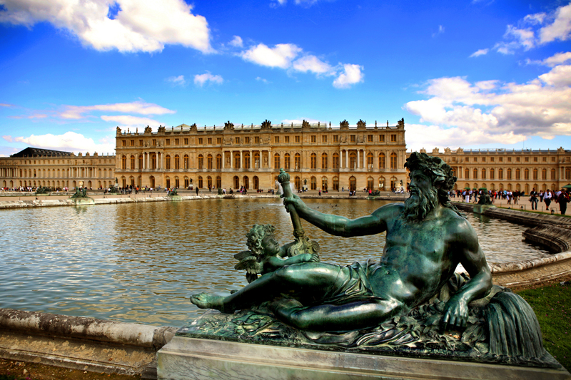 Versailles Palace tourist attractions poster customized French landscape painting poster photo photo paper poster c290