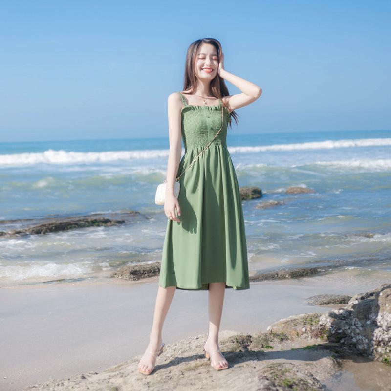 娇小个子加小码连衣裙150cm沙滩裙
