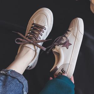 小白鞋女鞋2020年新款秋冬季爆款百搭平底运动板鞋ins街拍潮鞋子